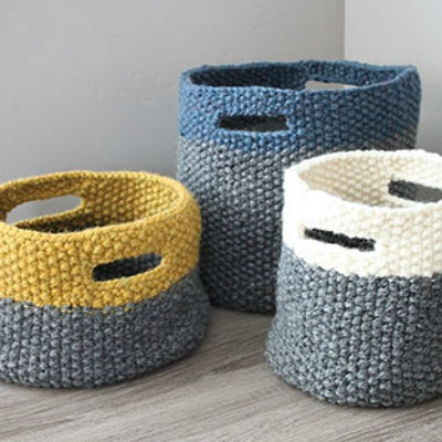 basket home decoration