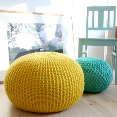 pouf home decoration