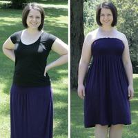 Convertible Maxi Dress Skirt Tutorial