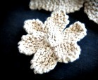 knit flower for beginners