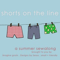 Shorts on the Line Sew Along