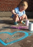 summer crafts to do with kids sidewalk chalk paint