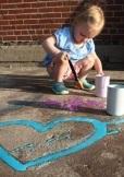 summer crafts to do with kids sidewalk chalk paint