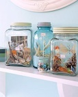 summer crafts to do with kids vacation memory jars