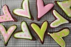 chocolate sugar cookies with royal icing