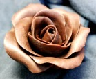 Gorgeous cake topping chocolate rose