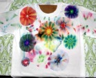 Sharpie Tie-Dyed Shirt that teaches kids about color blending