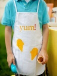 Ice cream crafts ice cream apron
