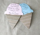 Ice cream crafts ice cream invitations