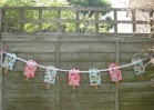 Ice cream crafts popsicle bunting
