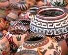 Santa Fe International Folk Art Market baskets