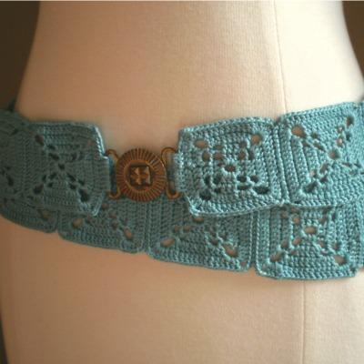 easy crochet pattern belt