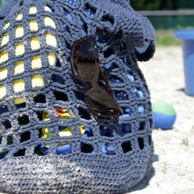 easy crochet pattern beach tote