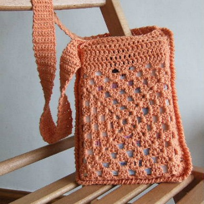 easy crochet pattern book bag