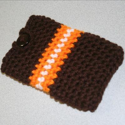 easy crochet pattern iPod cozy