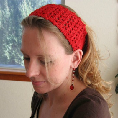 easy crochet pattern headband