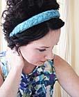 braided headband friendship craft