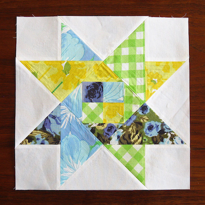 star quilt block tutorial