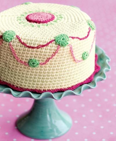 Crochet Cake Pattern