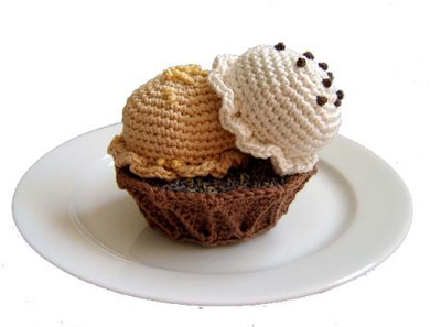 Free Crochet Ice Cream Pattern