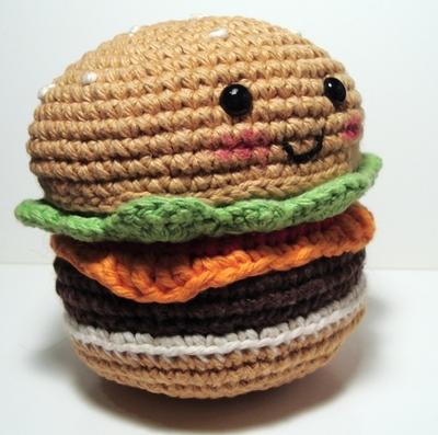 Free Amigurumi Hamburger Pattern