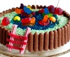 Swimming Pool Cake by Alana Bread