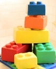 Lego Cake by A WIsh and A Whisk