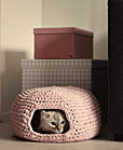 crochet pet craft bed