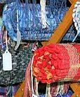 Some fiber arts at a previous Salt Fork Arts and Craft Festival