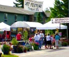 Northwood Art and Book Festival Tents