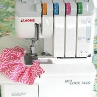 Serger at Sew Delicious