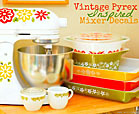 vintage pyrex and decals