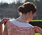 vintage-inspired blouse