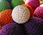 bocce crochet game