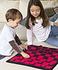 checkers crochet game