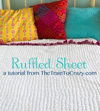 ruffled sheet tutorial