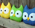 fabric owl crafts