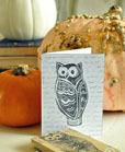 paper card owl crafts