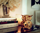 ceramic owl craft