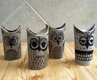 toilet paper owl crafts