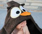 towel owl crafts