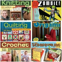 book covers of Craft-A-Day calendars