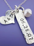 handmade Christmas gifts metal stamped jewelry