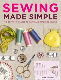 """Sewing Made Simple"" book cover"