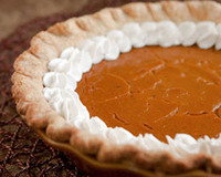 vegan baking pumpkin pie