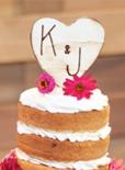 handmade wedding ideas cake topper