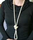 downton abbey craft necklace