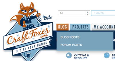 CraftFoxes blog
