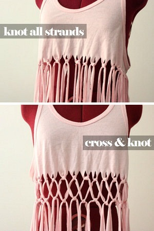 Macrame Knotted Swimsuit Cover up