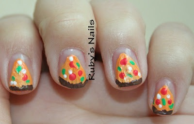 pizza fail manicure